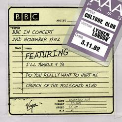BBC In Concert: Culture Club (3rd November 1982)