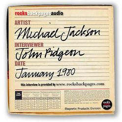 Michael Jackson Interview by John Pidgeon (January